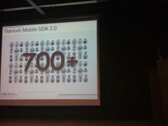 Titanium Mobile SDK 2.0 目前還有超過 700 隻的 bug 待修