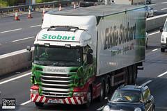 Scania R440 6x4 Tractor - PX60 CZD - Frankie Jorgia - Green & Red - 2010 - Eddie Stobart - M1 J10 Luton - Steven Gray - IMG_1534