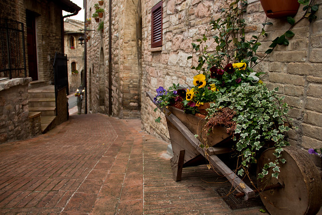 Assisi's Beautiful Streets