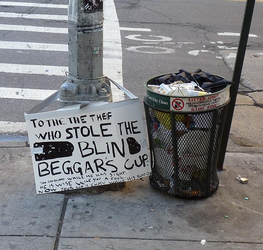 Blind Beggar's Cup