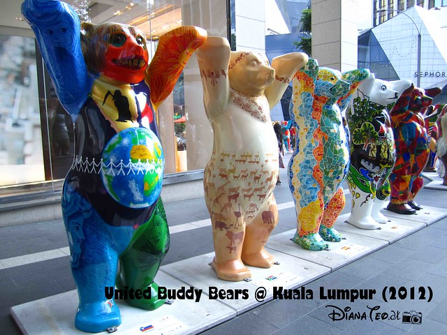 United Buddy Bears @ KL 10