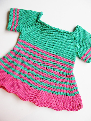 Strimma baby tunic