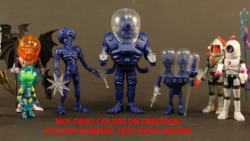 New Outer Space Men Test Shots