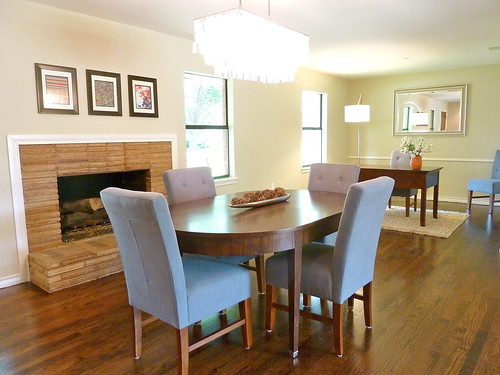 Finished Flip Photos The Dining Room Office And Den It 39 S Great To Be Home