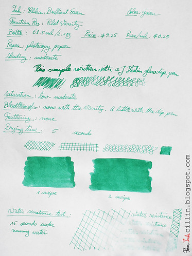 Pelikan Brilliant Green on copy