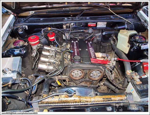 Totoya 4AGE Engine