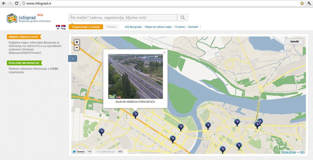 gis mapa beograda Infograd's most interesting Flickr photos | Picssr gis mapa beograda