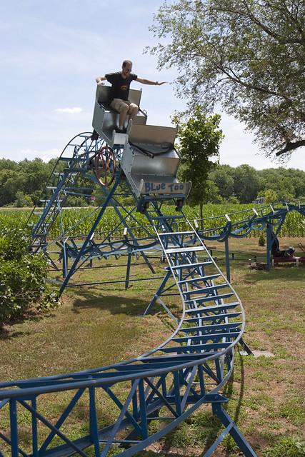 Backyard Roller Coaster Kit : Rollers Backyard Roller Coaster