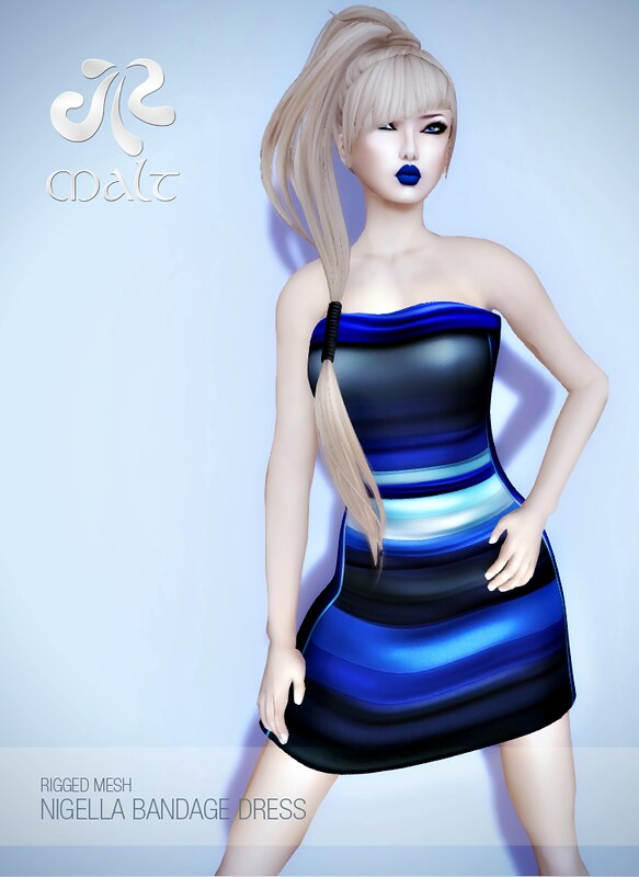 .:MALT:. Nigella Bandage Dress