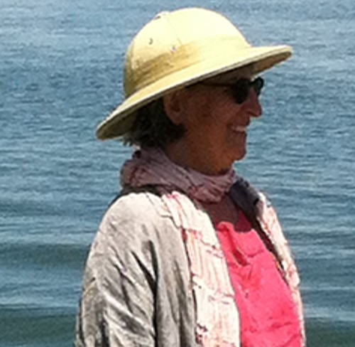 author in pith helmet