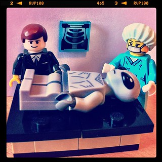 There has to be a logical explanation Mulder... #xfiles #lego