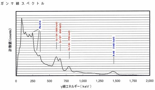 γ線スペクトル5