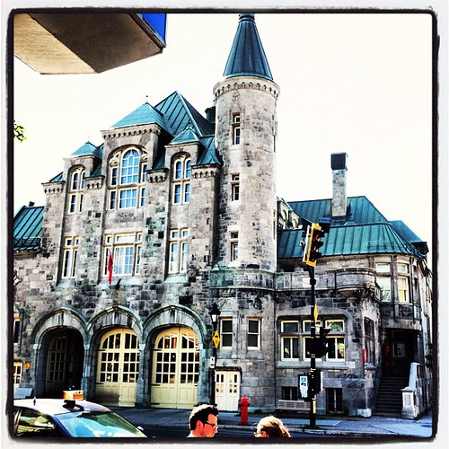 In #montreal, this is a firehouse. #canadagram