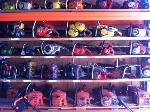 10-05-2012 Chainsaw collection