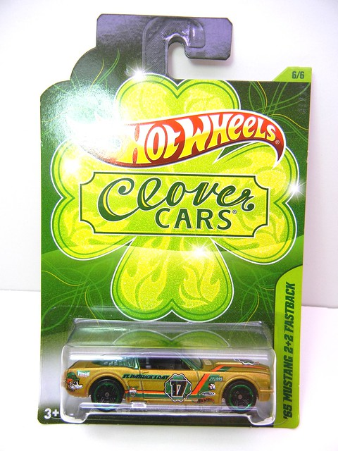 hot wheels clover cars '65 mustang fastback 2+2 (1)