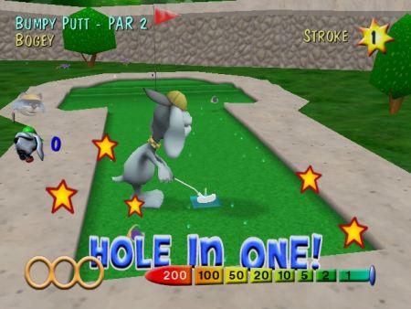 videojuego de golf