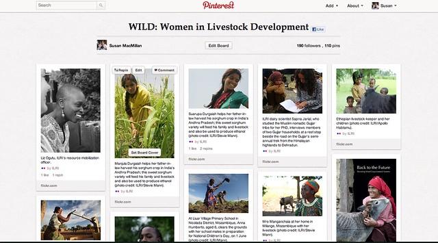 Women in Livestock Development