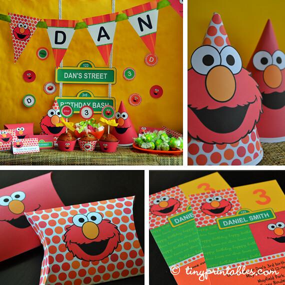 Images Elmo Birthday Cake