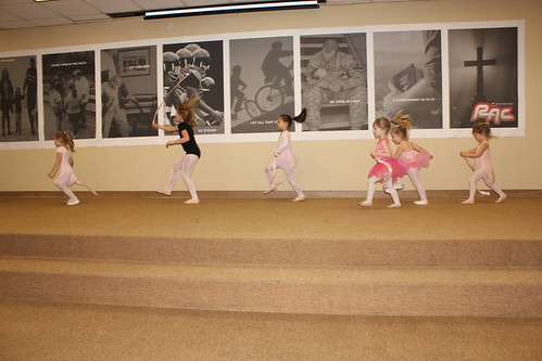 Cheyenne's First Ballet Recital
