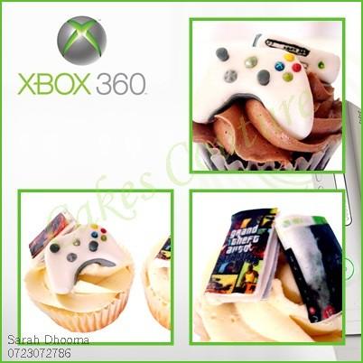 xbox360 cupcakes