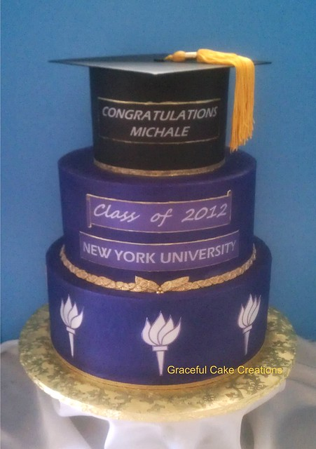 Square Graduation Cake Ideas