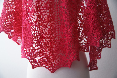 The Lisa One Skein Shawl