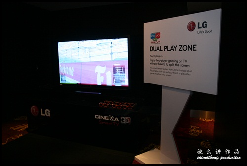 LG CINEMA 3D Smart TV - Dual Play