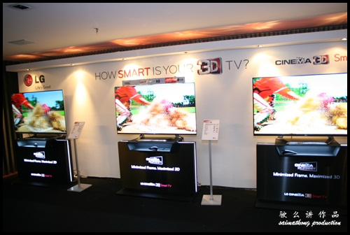 LG Cinema 3D Smart TV Party @ GSC Signature, Gardens