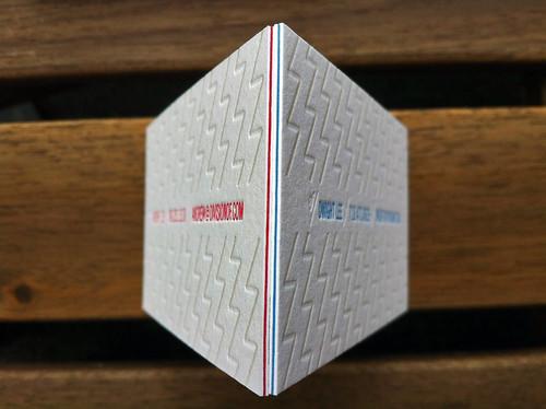 DivisionOf/ Triplex Business Cards