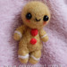 PVT with marce280* (felted gingerbread man) - sent