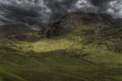 mountain scotland hdr hdri a82