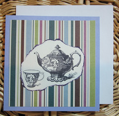 A cup of tea card