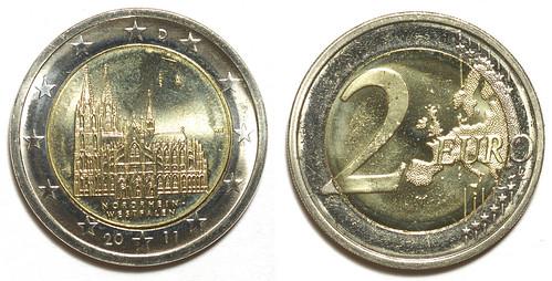2 Euros Alemania 2011