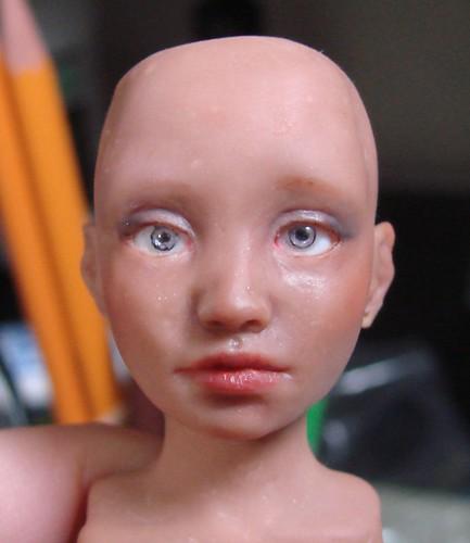 Mocha makeup wip