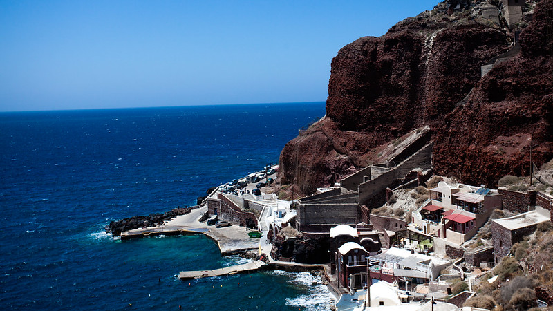 View from Oia [EOS 5DMK2 | EF 24-105L@37mm | 1/1600s | f/6.3 | ISO200]