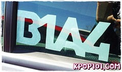 B1A4 DIY Kpop sticker