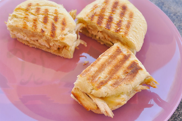 Chicken Pesto & Mozzarella Panini
