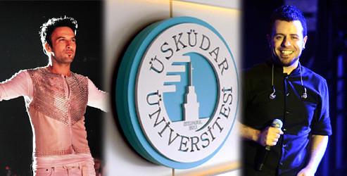 Üsküdar Üniversitesi Tarkan'la gençlik festivalinde