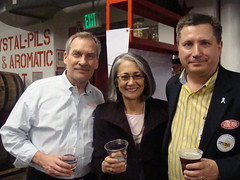"Pints for Prostates ""Tie One On"" Awareness Event at Pike Brewing in Seattle."