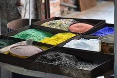 Murano glass fragments
