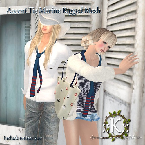 ::K:: Accent Tie Marine LB ~Soon~ by Kitt+
