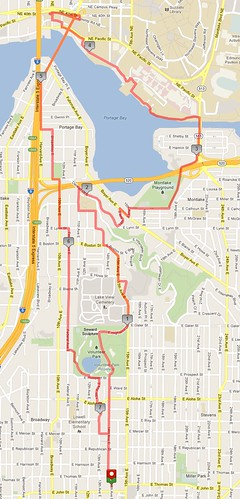 Today's awesome walk, 7.4 miles in 2:18 by christopher575