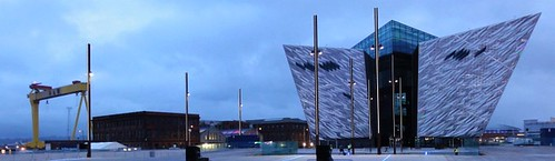 Titanic Belfast, Harland and Wolff Drawing Office and Crane