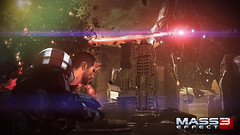 Mass Effect 3 - Shepard vs Reaper machine