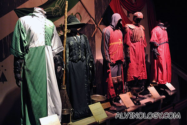 Quidditch uniforms