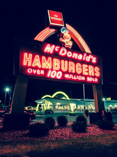 McDonald's Hamburgers by kenfagerdotcom