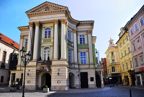 Estates Theater -- Old Town Prague
