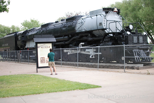 Union Pacific Big Boy in Cheyenne, WY