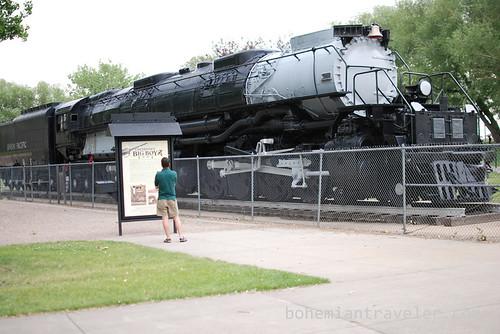 Union Pacific Big Boy in Cheyenne, WY