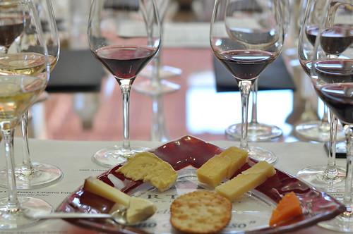 Vino con Queso at Artesa Winery ~ Napa, CA